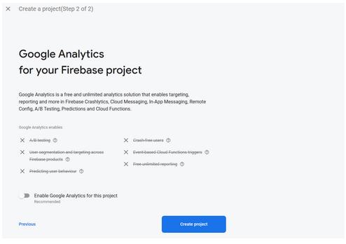 Add or not Google analytics